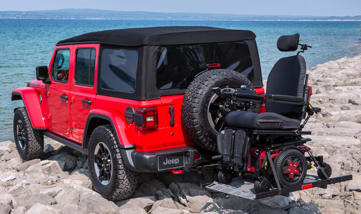Jeep Wrangler - Lifts, Hoists  and Carriers