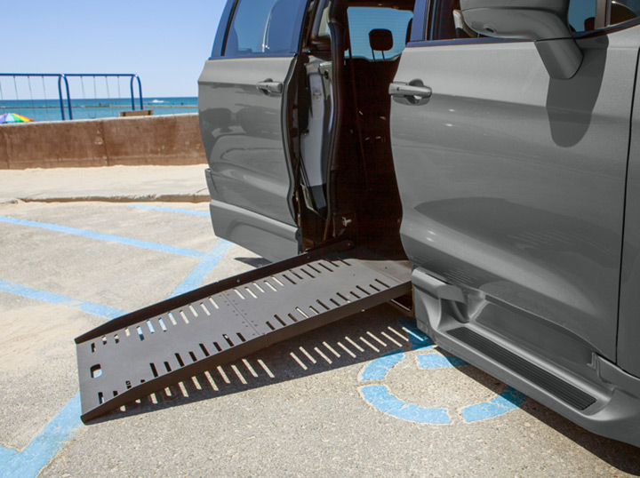 Lowered Ramp on Dodge Caravan