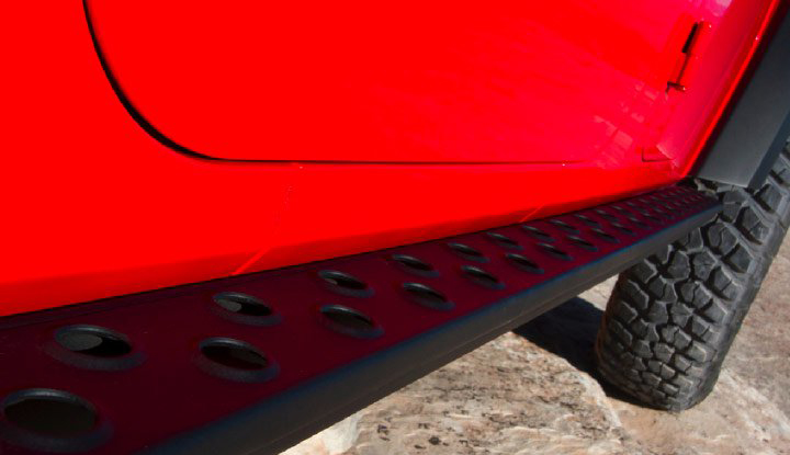 Jeep Wrangler - Running Boards