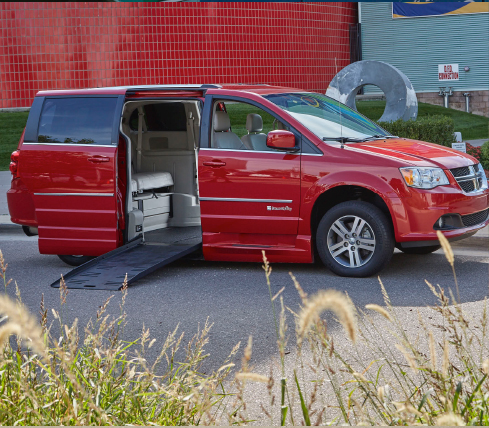 Dodge Grand Caravan - Lowered Floors and Ramps - Enjoy the Ride