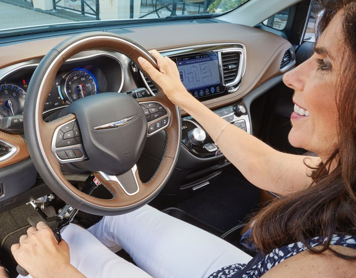 Chrysler Pacifica - Driving Controls - Cheryl Driving