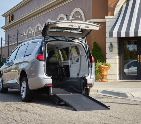 Chrysler Pacifica - Lowered Floors - Own The Road