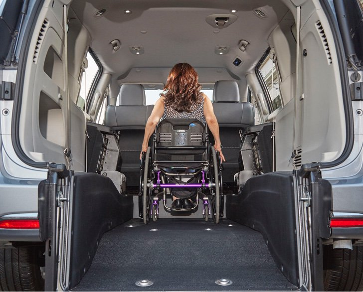 Chrysler Pacifica - Lowered Floors and Ramps - Room to Spare