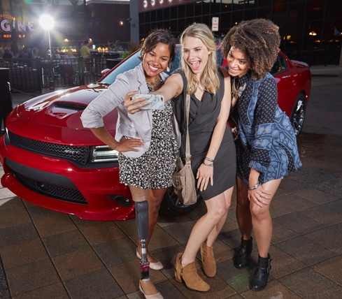 Dodge Charger - Selfies with Style