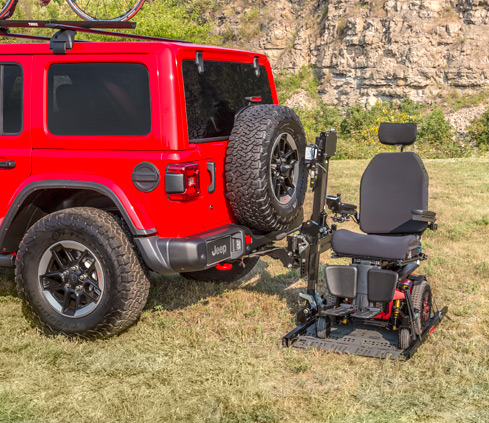 Jeep Wrangler - Lowered Floors and Ramps - A Diamond in the Rough