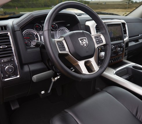 Ram 1500 - Driving Controls - Always in Control