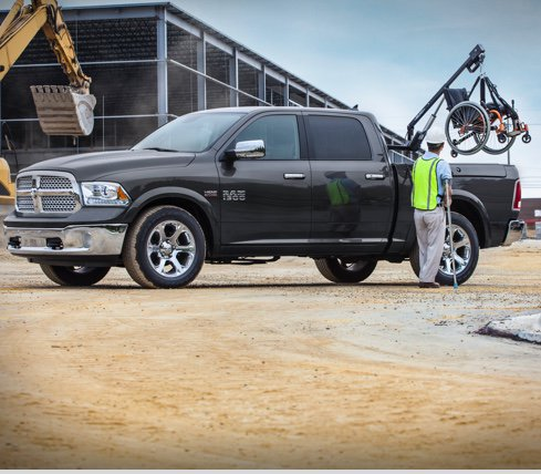 Ram 1500 - Lifts, Hoists and Carriers - Capability Is King