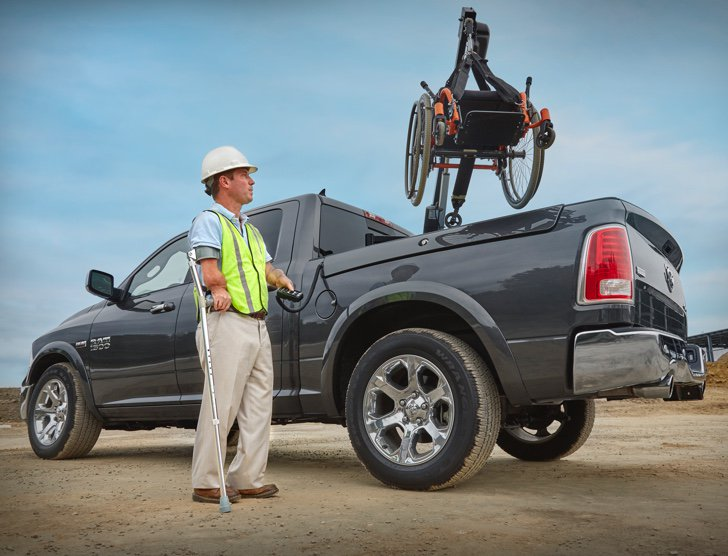 Ram 1500 - Lifts, Hoists and Carriers - Here for the Assist