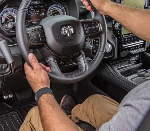 Ram 1500 - Driving Controls - It Gets the Job Done
