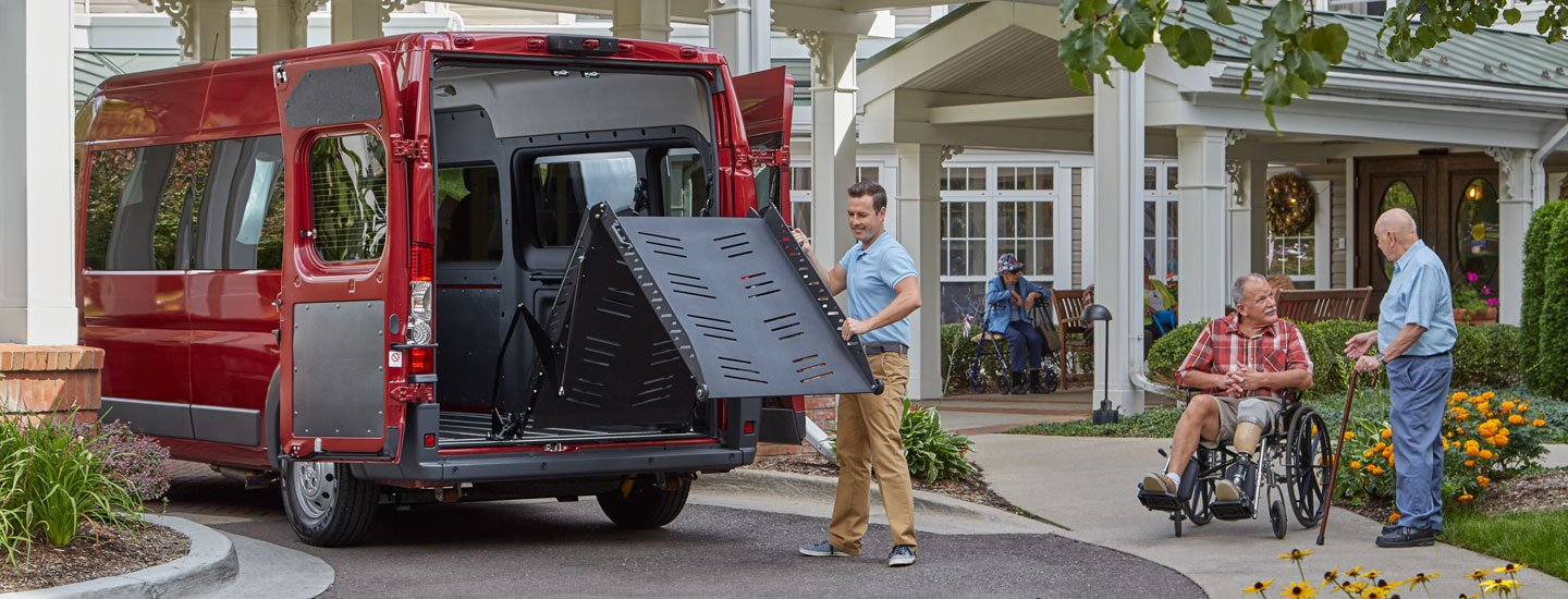 Ram Promaster - Lowered Floors and Ramps